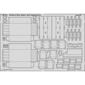 Nashorn floor plates and ammo boxes Tamiya 35335