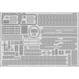 Eduard 1:350 USS Arizona part 1 cranes dla Trumpeter