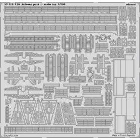 USS Arizona part 4 - main top Trumpeter .03701
