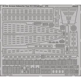 German Submarine Type IX C/40 hull pt. 1   REVELL 05133
