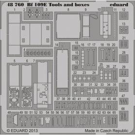 Eduard 1:48 Messerschmitt Bf-109E tools and boxes