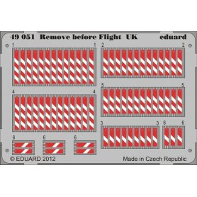 Remove before flight UK