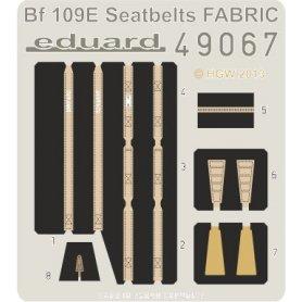 Eduard 1:48 Messerschmitt Bf-109E seatbelts FABRIC