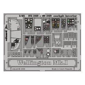Eduard 1:48 Interior elements kokpitu for Wellington Mk.I / Trumpeter