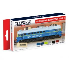 Hataka AS57 Polish Railways Loco PKP Cargo set