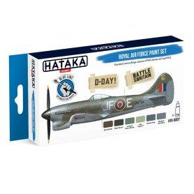 Hataka HTKBS07 Royal Air Force paint set
