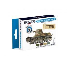 Hataka HTKBS11 Early WW2 Polish Army Paint set
