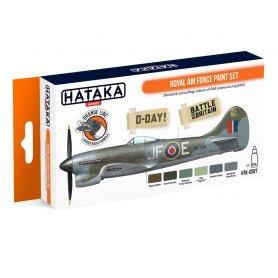 Hataka HTKCS07 Royal Air Force paint set