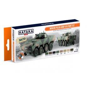 Hataka HKTCS72 Modern Polish AFV paint set
