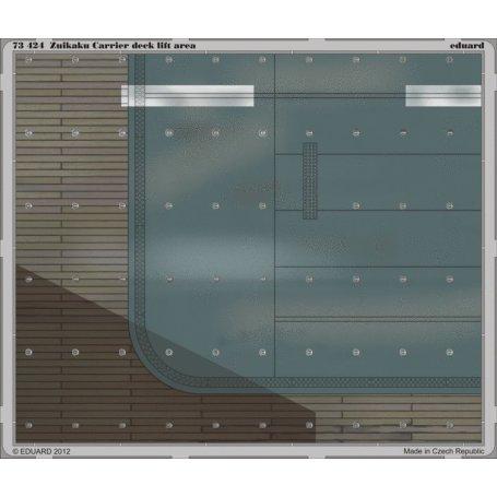 Eduard 1:72 IJN Zuikaku carrier deck / lift area - Sklep Modelarski Agtom