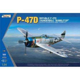 Kinetic 3207 1/24 P-47D Thunderbolt Bubble Top