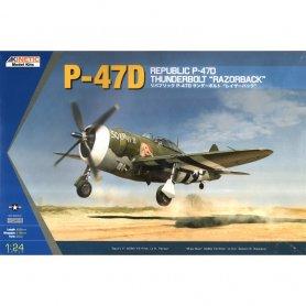 Kinetic 3208 1/24 P-47D Razor Back