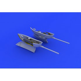 Eduard 1:48 Cannon pods for Messerschmitt Bf-109 / Eduard