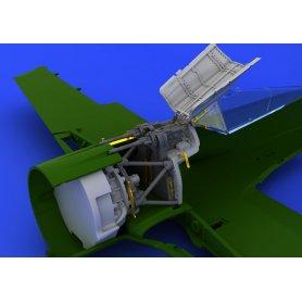 Eduard 1:72 Mocowanie karabinów MG 131 do Focke Wulf Fw-190 A-8 dla Eduard