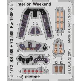 Fw 190F-8 interior  Weekend EDUARD