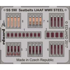 Seatbelts IJAAF WWII STEEL EDUARD