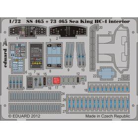 Sea King HC-4 interior S.A. CYBER HOBBY