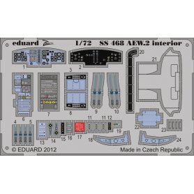 Sea King AEW.2 interior S.A. CYBER HOBBY