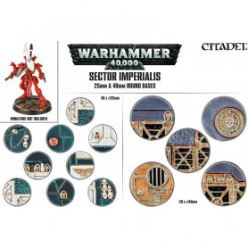 Sector Imperialis 25mm and 40mm Round Bases