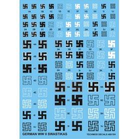 Kalkomanie German WWII Swastikas