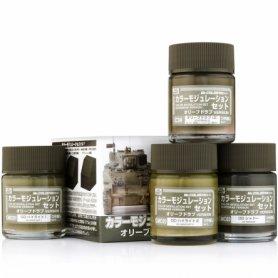 Mr.Color CS-581 Color Modulation Set Olive Drab