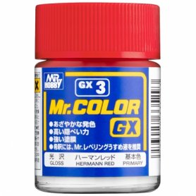 MR.COLOR GX3 HERMANN RED