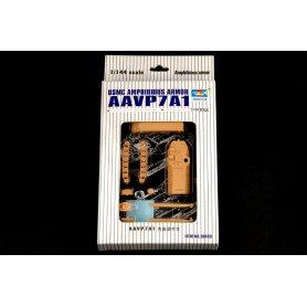 Trumpeter 1:144 00103 USMC Amphibious Armor AAVP7A1