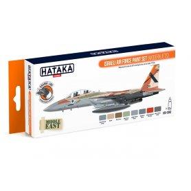 Hataka HTK-CS62 Israeli Air Force Paint set modern