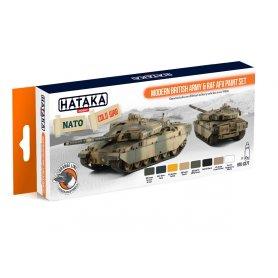 Hataka HTK-CS77 Modern British Army & RAF AFV set