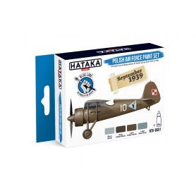 Hataka HTKBS01 Polish Air Force paint set