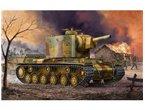 TRUMPETER 1:35 00367 Pz.Kpfm KV-2 754(r) Tank