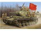 TRUMPETER 1:35 01566 SOVIET KV-1S HEAVY TANK
