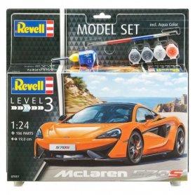 Revell 1:24 McLaren 570S | Model Set | w/paints |