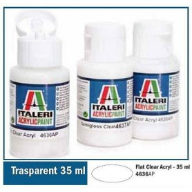 Italeri 4636 Akryl Flat Clear 35Ml