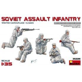 Mini Art 35226 Soviet Assault Infantry ( winter )