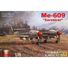 RS Models 92197 Me-609 Heavy Fighter - bomber