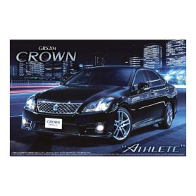 Aoshima 04939 1/24 GRS204 Crown Athlete '10 Toyota