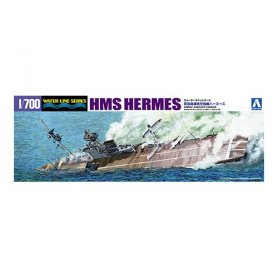 Aoshima 05100 1/700 British Hms Hermes Of Ceylon