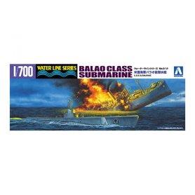 Aoshima 05209 1/700 US Navy Balao Class Submarine