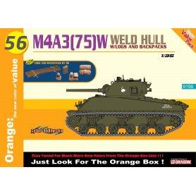 Dragon Cyber Hobby 9156 M4A3 (75) w Welded Hull