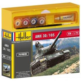 Heller 49999 Amx 30/105 1/72    S-3