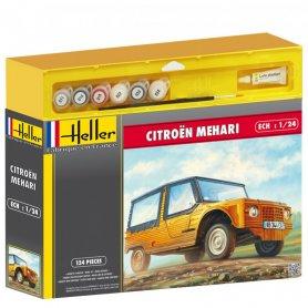 Heller 50760 Citroen Meharii 1/24 Starter set