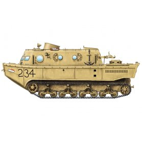 Hobby Boss 82918 LWS amphibious tractor early