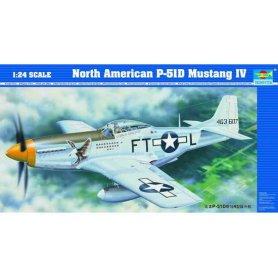 Trumpeter 02401 P-51D Mustang  1/24