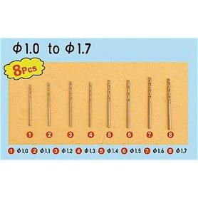 Trumpeter 09955 Twist drilling Auger Bit - set 2