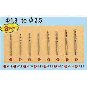 Trumpeter 09956 Twist drilling Auger Bit - set 3