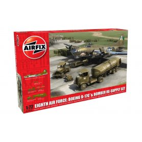Airfix 12010 B-17G & Bomber Re-supply Set 1/72