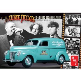 AMT 1:25 Ford Sedan Delivery Three Stooges 1940