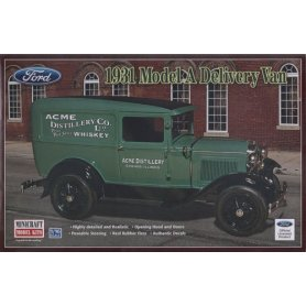 Minicraft 1:16 Ford Model A Delivery Van 1931