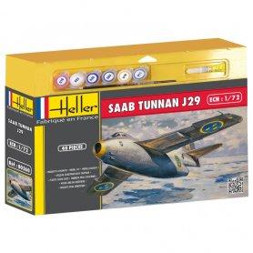 Heller 50260 SAAB Tunnan J29 1/72